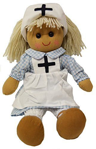 DF, A Beautiful Rag Doll in a cute Nurses outfit, 40 cm high by DF Soft Toys