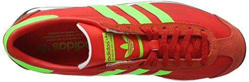 adidas Country Og, Entraînement de course homme Rouge (Red/Solar Green/Vintage White S15-St)