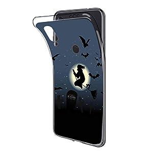Oihxse Compatible con Samsung Galaxy A9 2018 Funda Silicona Transparente Suave Gel TPU Carcasa Ultra-Delgado Patrón…