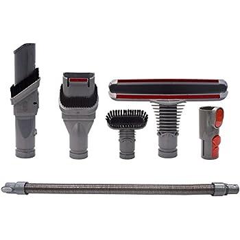 brosse kit accessoires avec tuyau d 39 aspirateur pour dyson v8 v7 v10 aspirateur avec adaptateur. Black Bedroom Furniture Sets. Home Design Ideas