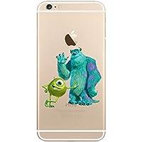 Disney MONSTER UNI. trasparente in poliuretano termoplastico per iPhone-Cover per Apple iPhone 5, 5S, 5C, 6/6S plastica, (iphone6/6s, MU7)