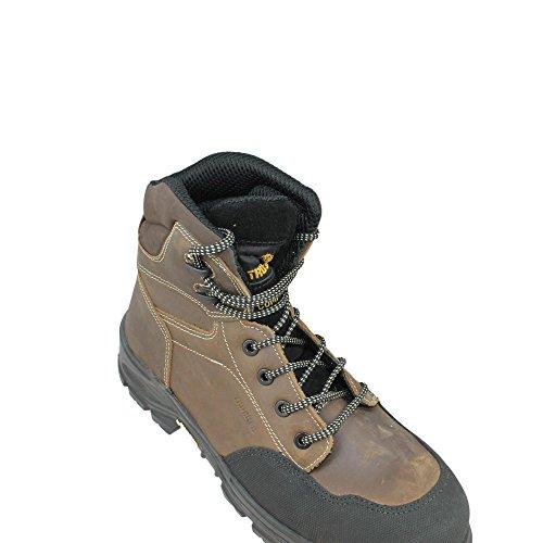 Aimont scouter hRO s3 sRC chaussures de travail chaussures berufsschuhe businessschuhe chaussures marron Marron - Marron