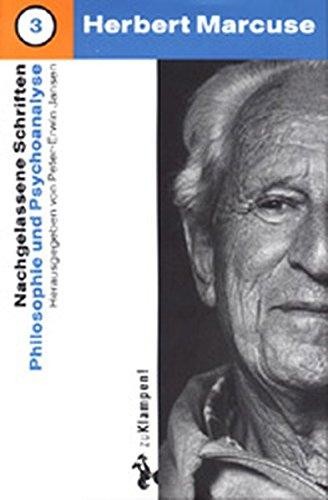Nachgelassene Schriften, Bd.3, Philosophie und Psychologie