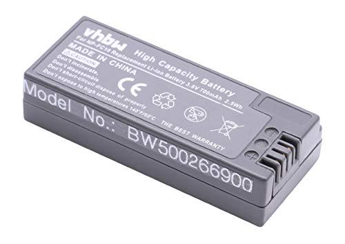vhbw Akku Set 700mAh für Kamera Sony DSC-F77, DSC-FX77, DSC-P (Cyber-Shot Point & Shoot) Serie wie NP-FC10, NP-FC11 Cyber-shot Point
