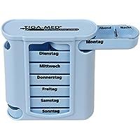 Medikamentendosierer Tablettenbox 7 Tage Pillendose Medi Box Medikamentenspender Pillenbox preisvergleich bei billige-tabletten.eu