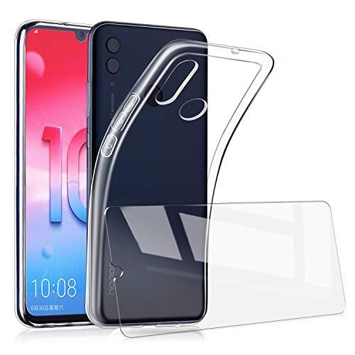 AILRINNI Cover Huawei P Smart 2019/Honor 10 Lite + Pellicola Protettiva in Vetro Temperato, Custodia...