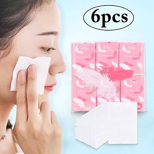 Almohadillas de Algodón de Maquillaje