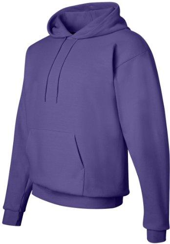 Hanes Comfortblend EcoSmart Pullover Hoodie Sweatshirt Violett