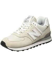63922690d5e51 Amazon.fr   new balance - Blanc   Chaussures femme   Chaussures ...