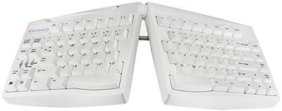 USB Goldtouch y PS2 árabe Diseño de teclado - blanco