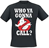 Ghostbusters Who You Gunna Call? T-Shirt schwarz L