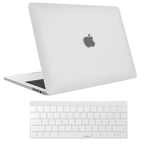 MacBook Pro 15Coque 2016A1707, ProCase Coque rigide en caoutchouc et couvercle de...