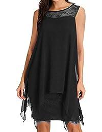 c2e127487 Vectry Rebajas Vestidos De Fiesta Vestidos Liso Vestidos Casual Vestidos  para Boda Vestidos Sin Manga Vestidos
