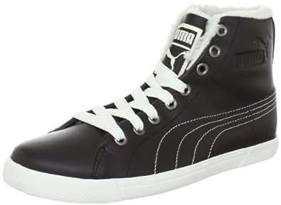 Puma Benecio Mid Fur WTR 352385, Unisex - Erwachsene Klassische Sneakers, Schwarz (black coffee 03) (black coffee 03), EU 37 (UK 4) (US 5)