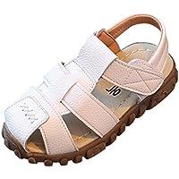 Zapatos 1-3 Años Bebé Niños Moda Zapatillas Niños Chicos Niñas Verano Sandalias Casuales Zapatos ¡Verano caliente! ❤️ Manadlian (Blanco, 2-2.5 años)