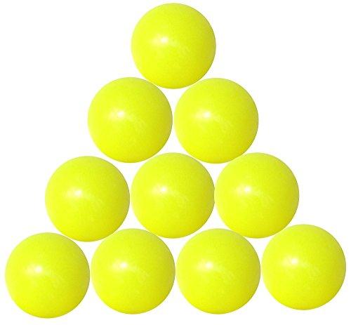 Emporio3 10 palline calcio balilla gialle FAS - GA19GI