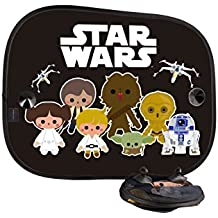 Parasole Auto - Side Blind - Star Wars Saga - Nero