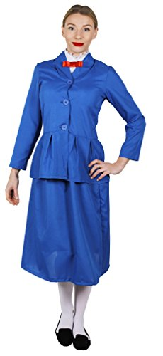 I Love Fancy Dress ilfd4043X L, mágico Victorian Nanny Disfraces (XL)