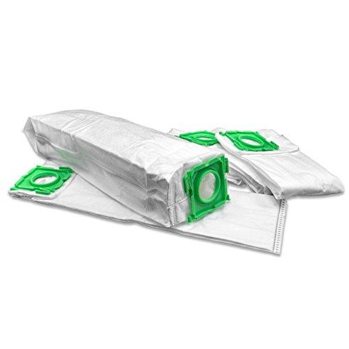 vhbw 5 Beutel Mikrovlies für Staubsauger Saugroboter Mehrzwecksauger wie Sebo 5093ER