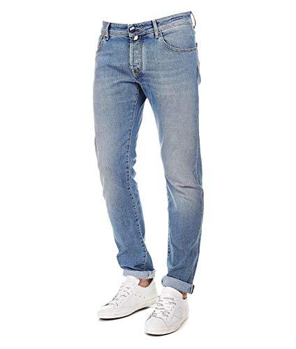 Jacob Cohen Jeans Uomo J622comf00732 Cotone Blu