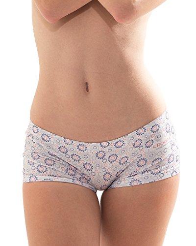 Croota Women's Seamless Boyshorts Underwear, Comfy Designer Panties
