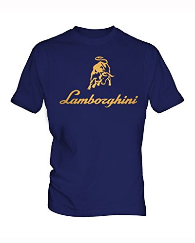 lamborghini-logo-3-hommes-blue-t-shirt