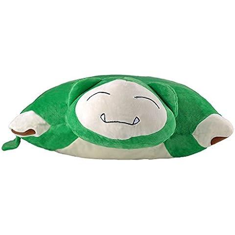 Katara 1750Pokémon Go puscheliges flojel Cojín de peluche/Peluche con como Idea de Regalo faules relaxo, XXL, 40cm, verde
