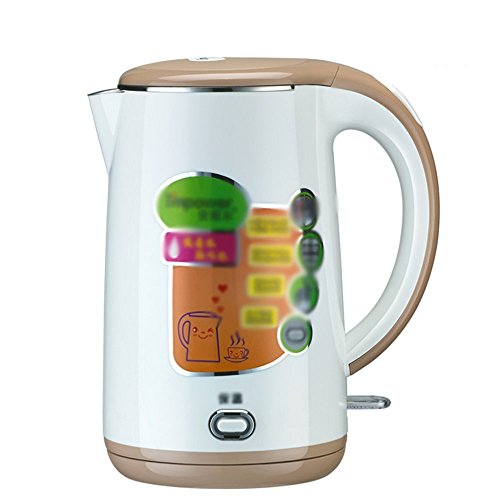 GPC Electric Kettle Glass Pink White Brown 1800W 1.7L Base Separation Automatic Power off Insulation Home Travel Electric Kettles