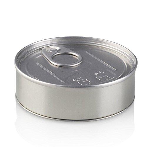 PRESSITIN in den -, Geruch-an, Dose 100ml -, Aufkleber, versiegelt, 5g, mit Deckel, Silber, 100 ml -