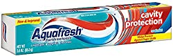 3 Pack - Aquafresh Cavity Protection Fluoride Toothpaste, Cool Mint 3 oz