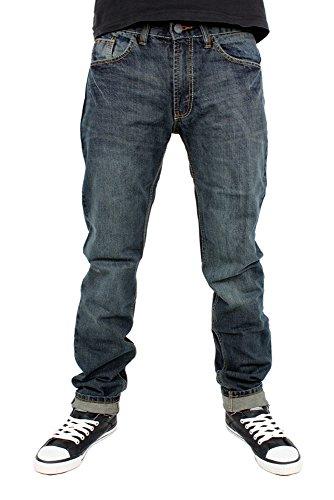 Streetwear Premium Skinny Jeans Blau Vintage