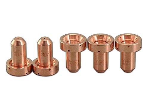 9-8206 Plasma Spitze 30Amp Ziehen Sie OTD Passen Thermal Dynamics SL60/SL100 Plasmaschneider Fackel 5pk (Plasmaschneider Thermal Dynamics)