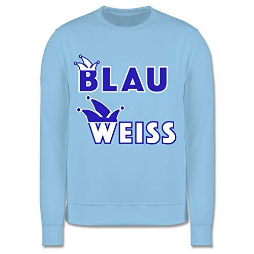 Shirtracer Karneval & Fasching Kinder - Blau weiß -
