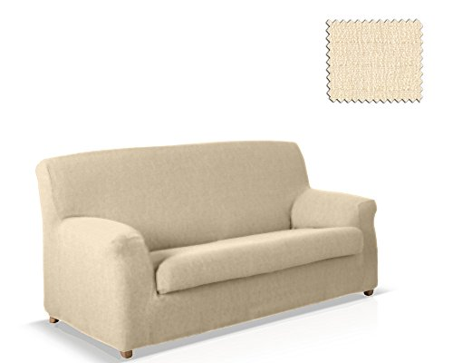 JM Textil Copridivano Elastico 2 Pezzi Bastet Dimensione 3 posti (da 180 a 210 cm.), Colore 00 (Vari Colori Disponibili.)