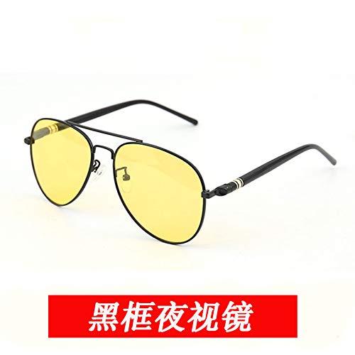 Sonnenbrillen Tag Und Nacht Dual-use-verfärbung Der Sonne Auge Beste Nacht Fahrbrillen, Hd Polarisierte Brille | Nachtfahren | Das Risiko Reduzieren | Fahrerbrillen Black Frame Night View