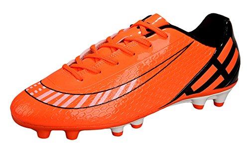 Y-BOA Football Chaussure Rugby Homme Sport Entrainement Athlétisme Légère Course Orange