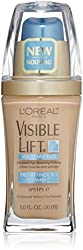 LOreal Visible Lift Serum Absolute Advanced Age-Reversing Makeup, Light Ivory 1 oz (Pack of 6)
