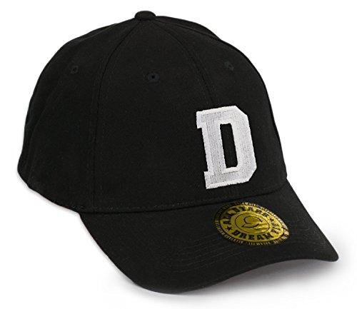 Unisex Snap Back Cap Flex fit Kappe Baseball Damen Herren HUT Mütze Caps Gothic 3D A-Z Snapback (L/XL, D)