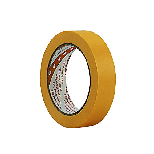 3MTM Super Maler-Abdeckband 244, 48 mm x 50 m, 0,08 mm, Gold (6 Pack)
