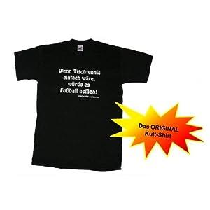 Sport T-Shirt Wenn Tischtennis einfach wäre.