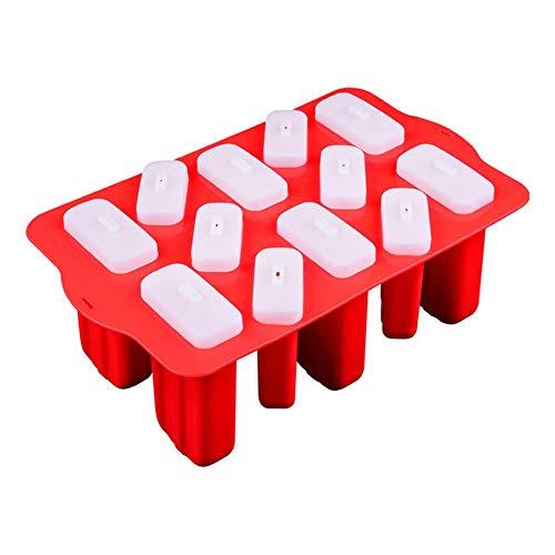 EZIZB Handgemachte Silikon-EIS Am Stiel-Form Für Eiscreme-Bar Ice Pop Gefrorener Joghurt DIY Süßigkeiten Schokoladen Seife Gelee Formen Behälter Für Haupt Kinder