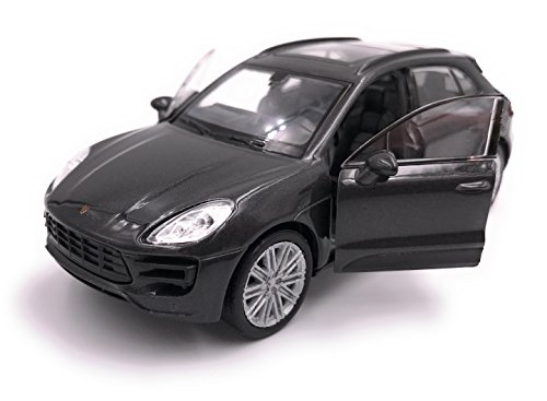 Welly Porsche Macan SUV Model Car Auto License Product 1: 34-1: 39 Black