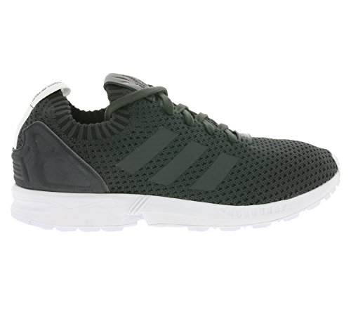 dcce0257c adidas ZX Flux PK Primeknit Solid Grey Black dgh solid grey-dgh solid grey-  ...