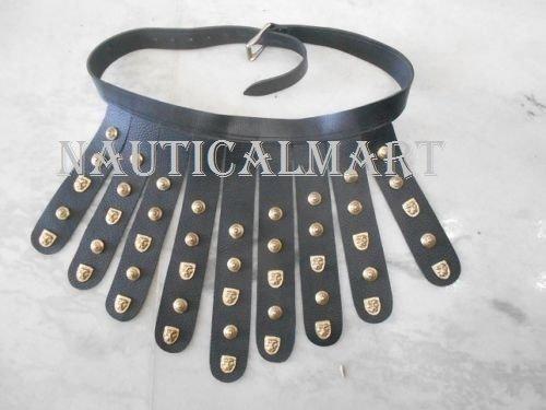 Handgefertigt römischen Leder Schürze Gürtel w/Messing Armaturen–Tragbar Kostüm