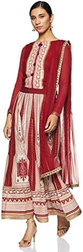 W for Woman A-Line Salwar Suit Set