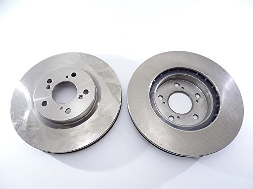 2x-brake-disc-rotor-front-31394-r-qbp-for-acura-rl-2005-2012