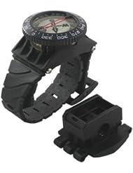 Scuba Choice Scuba Diving Deluxe Wrist Compass with Hose Mount by Scuba Choice