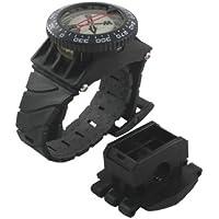 Scuba Choice Scuba Diving Deluxe Handgelenk Kompass mit Schlauchhalterung