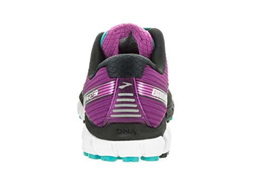 Brooks Ghost 9 Neautral Running Femmes Chaussures Baskets Sneakers Sport Casual Noir/Violet