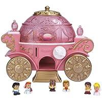 Squinkies Disney Princess Conjunto Juguete Dispensador Carroza